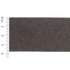 Ultra Suede Cuff Bracelet Strip 3.8x23.5cm Grey